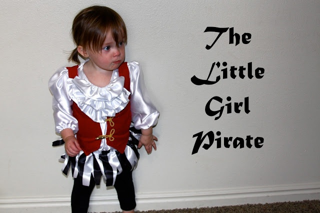 Little Girl Pirate Costume