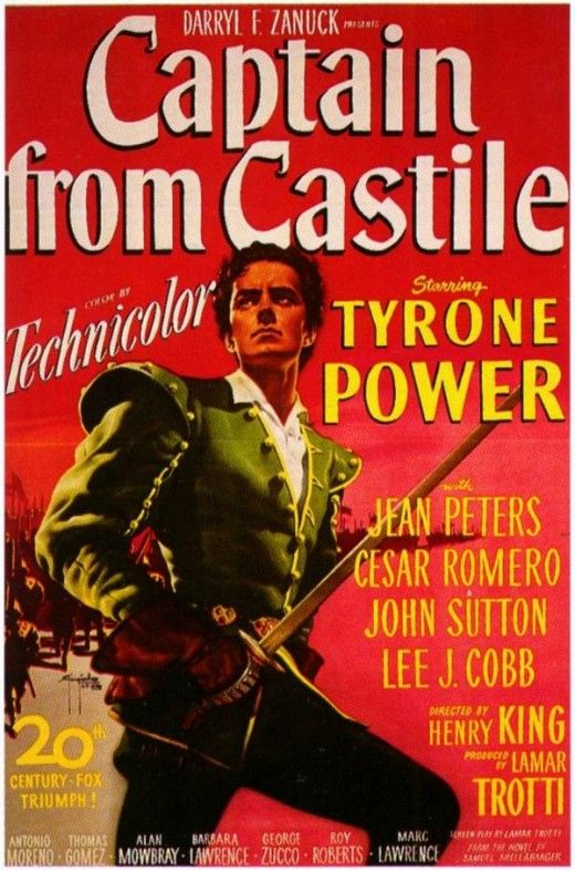 Might be my favorite Tyrone Power film with the exception of Zorro.