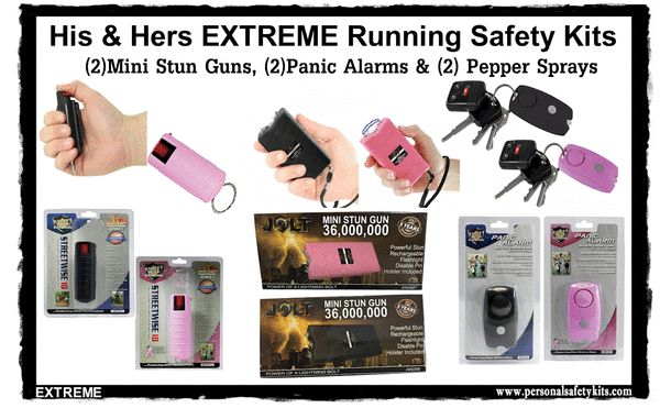 His & Her Runners EXTREME Safety Kit