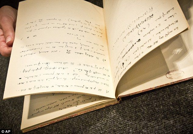On April 13, 2015, auction house Bonhams New York is slated to auction off a 56-page handwritten notebook that mathematician Alan Turing kept in 1942 during the time that he was working at Bletchle...