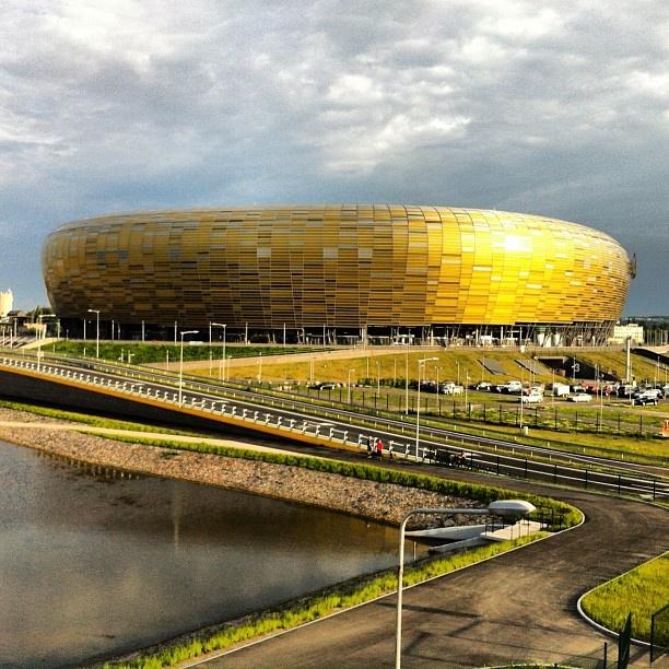 My favourite stadium ever, most beautiful PGE Arena Gdansk. Photo by Jaroslaw Marciuk