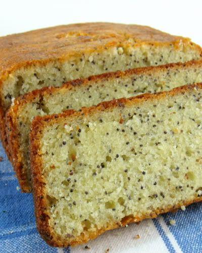 Lemon Poppy Seed Bread. it's nice but more like a cake then like a bread.