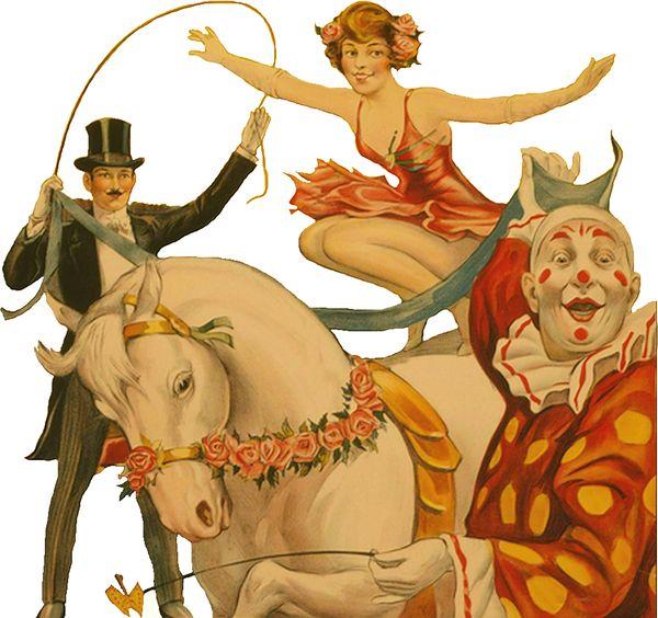 Vintage Circus Scrap.