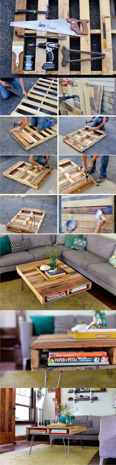 Pallet Project - Coffee Table Made From Pallets