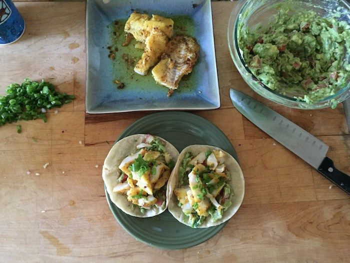 Fish Tacos Recipe with Fresh Guacamole  If I could only eat one food for the rest of my life, it would be tacos. Fish tacos, carne asada, pastor…even breakfast tacos. I could literally eat tacos every day and not get sick of them – in fact, I have. And I do so fairly often. This homemade fish tacos recipe is made with... #FOOD #Fish #Homemade #Seafood #SummerFood #Tacos