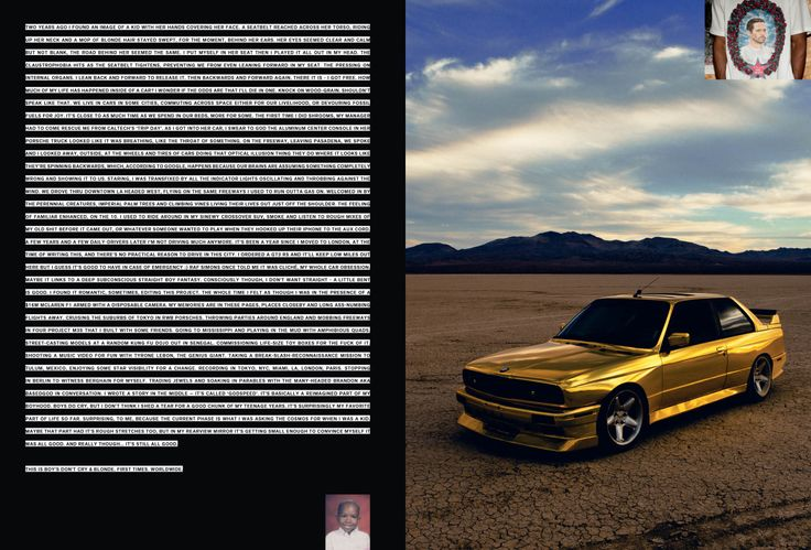Frank Ocean Writes About the Inspiration Behind His New Album 'Blond' on Tumblr