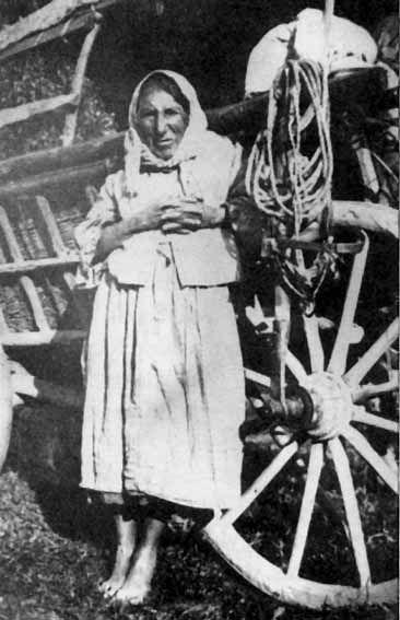 Влашская цыганка с Закарпатской Украины. 1922 год.