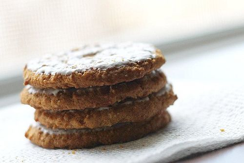 Iced Oatmeal Cookies at Grandma's | Cook: Sweets | Pinterest