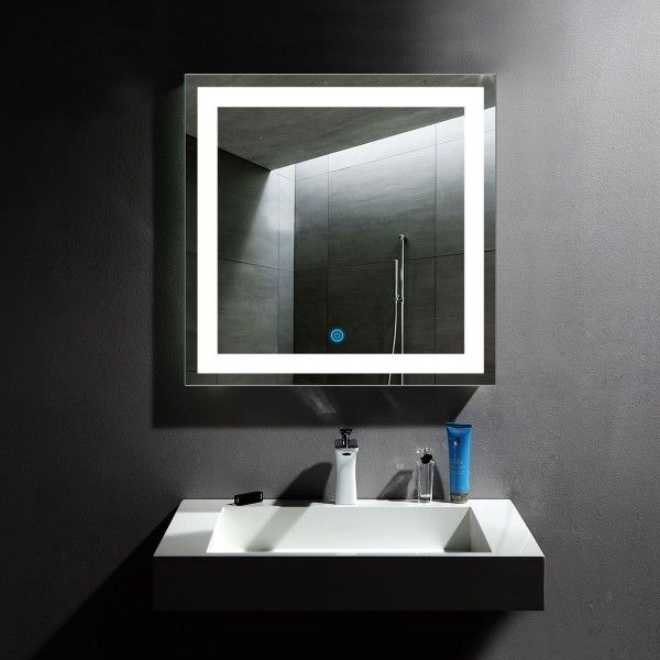 Led Mirror Lighted Mirror Mirrors With Light Vanity Mirror Makeup Mirror Lighted Vanity Mirror Led Van Led Mirror Bathroom Bathroom Mirror Wall Mounted Mirror