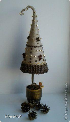 Здравствуйте жители СМ!!! У меня продолжение новогодней лихорадки http://stranamasterov.ru/node/459079 (семь елочек и две бутылочки) :)).  фото 2