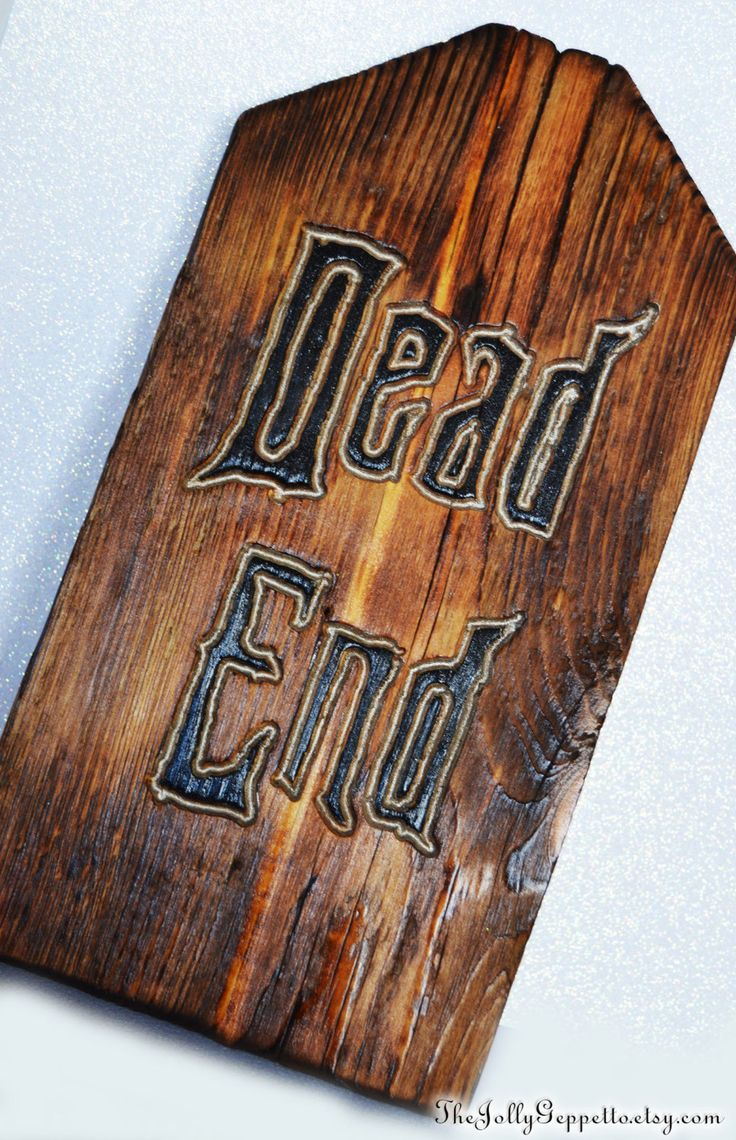 best ideas about dead end sign haunted mansion dead end tombstone gravestone graveyard hand routed wood sign disney haunted mansion