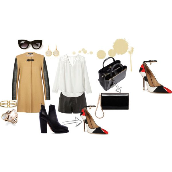 """""""Look Casual Chic"""" by carolline-azevedo on Polyvore"""