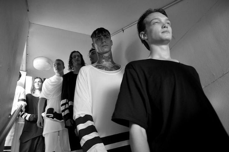 RENYA XYDIS // VALONZ Backstage at Ten Pieces SS15