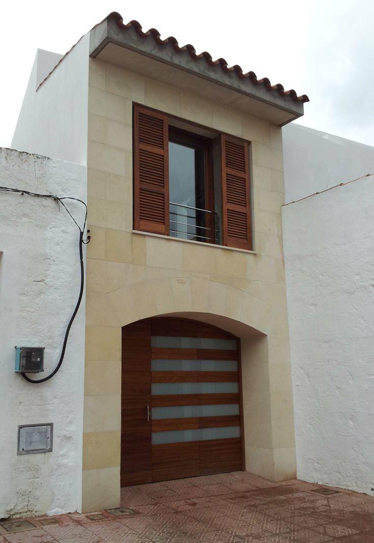 Ideas de #Casas de #Exterior, estilo #Tradicional diseñado por Toni Morlà Villalonga Arquitecto con #Fachada  #CajonDeIdeas
