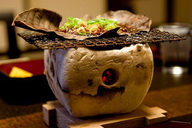 Small grill, Tanabe Ryokan, Takayama   by camwheeler