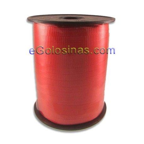 CINTA ROJA es una cinta de 5mm ideal para cerrar las bolsas cono y rectangulares para fiestas infantiles y cumpleaños. Se vende bobina de 500 metros.