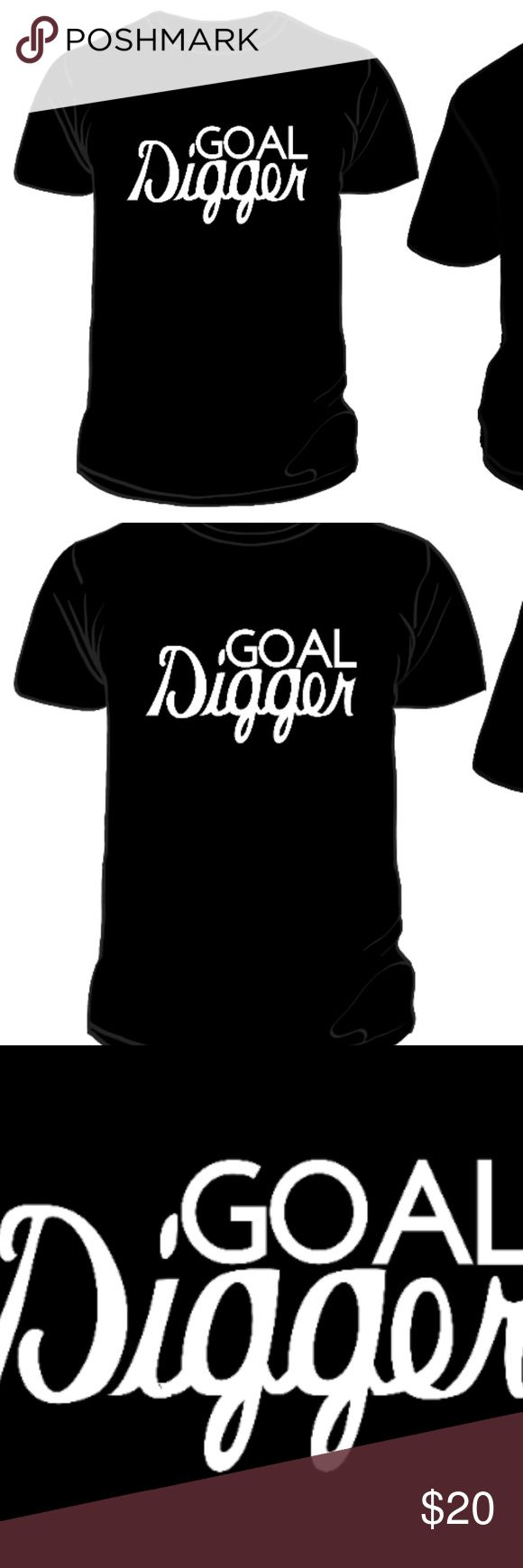 """Reflective Or Glow In the Dark Tee Goal Digger T-Shirt:  - For a snug fit, order one size down. - From dusk to early dawn VISIBL designs are great for biking, jogging, concerts, camping & more! - This design is available as Glow In The Dark, or Reflective. """"Glow In The Dark"""" is the default order unless requested otherwise when purchased. - Reflective designs meet most ANSI standards for retro-reflectivity, meaning the design reflects light back to the light source.  - Reflective designs can…"""