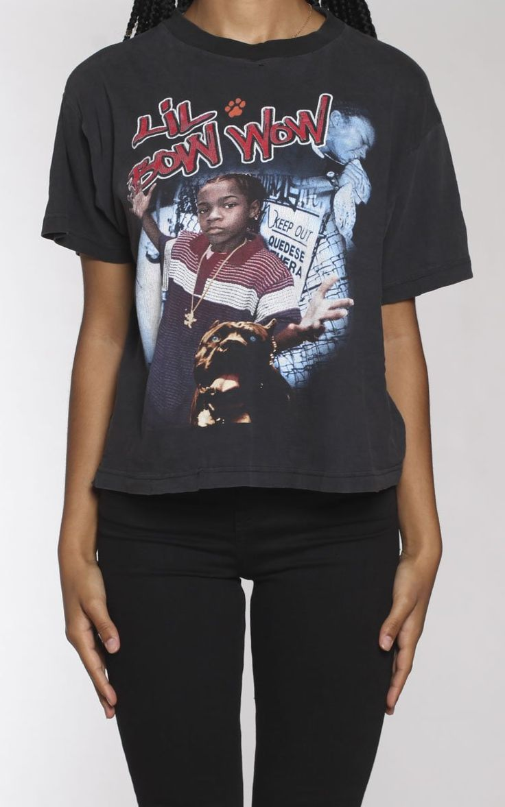 Lil jojo dead body pictures to pin on pinterest - Vintage Lil Bow Wow Tee Vendor Frankie Collectivetype Topsprice 80 00 Vintage Lil Bow Wow T Shirt Measurementssize Mpit To Pit 21 Length