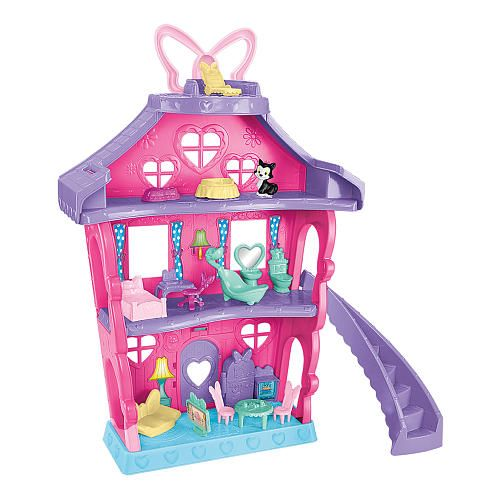 """Disney Junior Minnie Mouse Minnie's Magical Bow-Sweet Mansion Playset - Fisher-Price - Toys """"R"""" Us"""