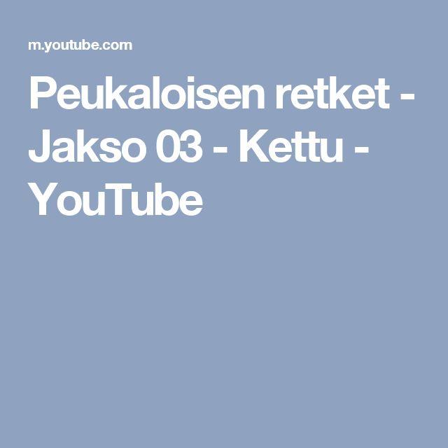 Peukaloisen retket - Jakso 03 - Kettu - YouTube