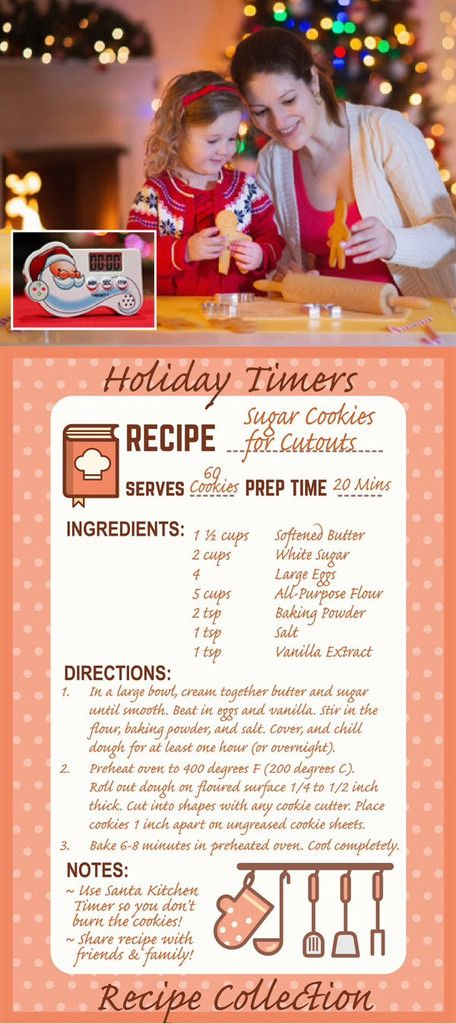 Santa Kitchen Timer