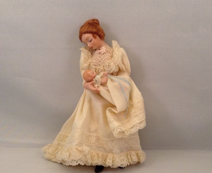 unknown artist - Victorian mother and baby