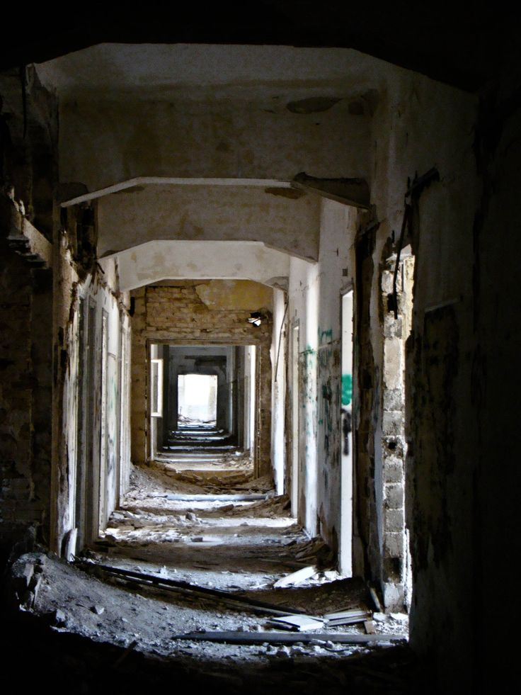A long long endless corridor