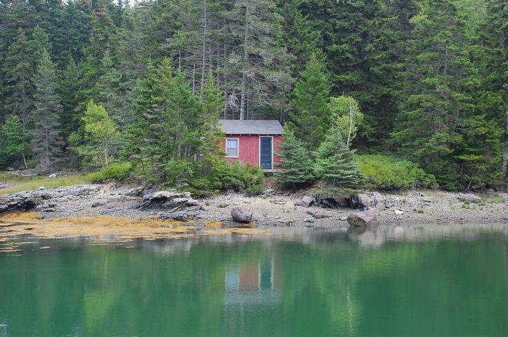 Cabin on Vinalhaven Island, Maine.