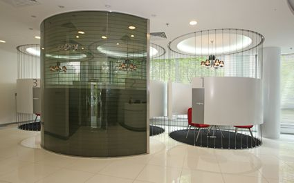 Interior Design works : Corporate Interiors by Michael Coloso, via Behance