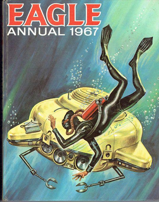 VINTAGE TREASURE - Eagle Annual 1967