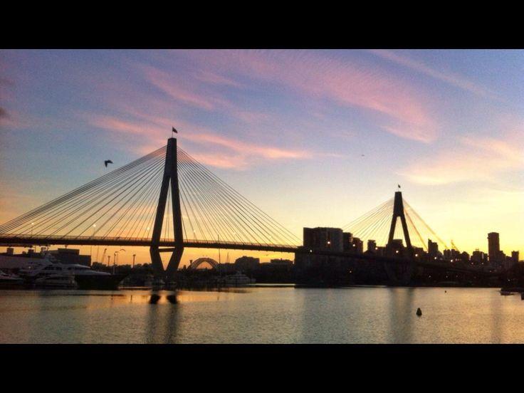 ANZAC Bridge. Copyright Aaron Rusden Photography