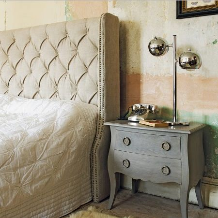 Guest room headvoard: Guest Bedrooms, Decoration, Tufted Headboards, Head Boards, Master Bedrooms, Bath Headboards, Bedside Tables, Night Stands, Upholstered Headboards