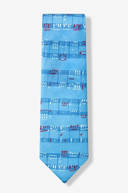 Notable Notes Tie by Alynn Novelty