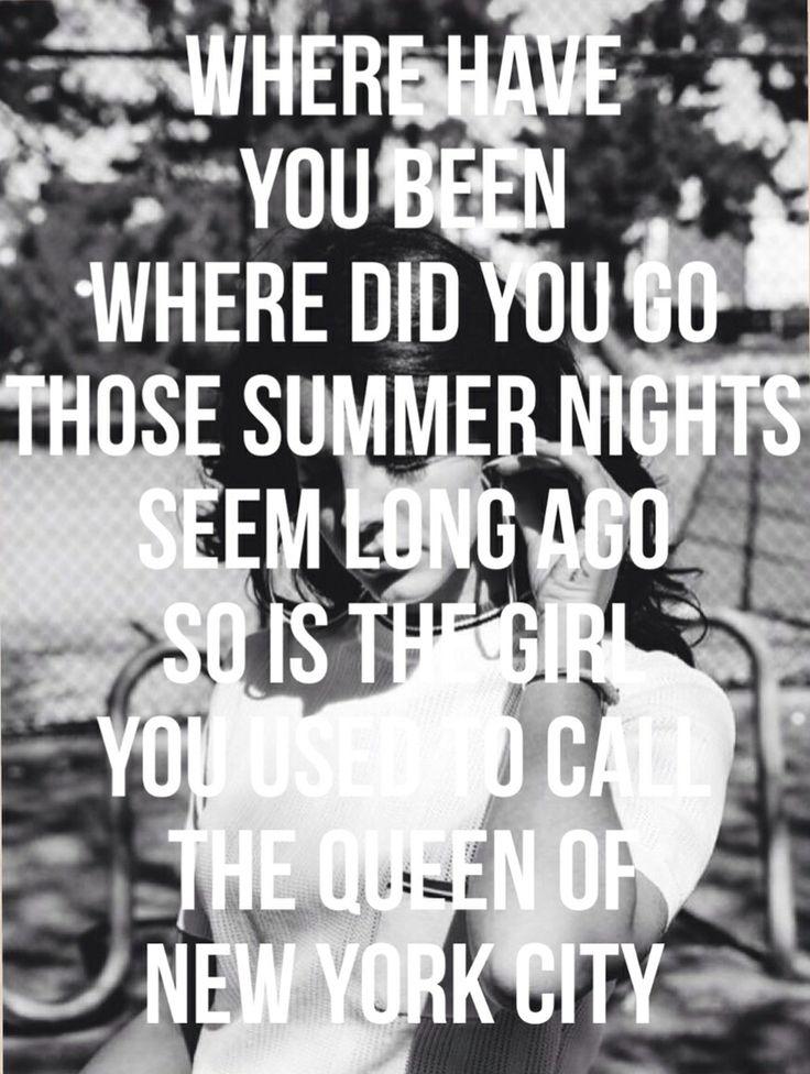 lana del rey lyrics - 736×976