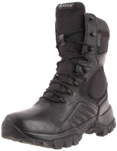Bates Men's Delta-9 GTX Side Zip Work Boot,Black,13 M US - http://authenticboots.com/bates-mens-delta-9-gtx-side-zip-work-bootblack13-m-us/