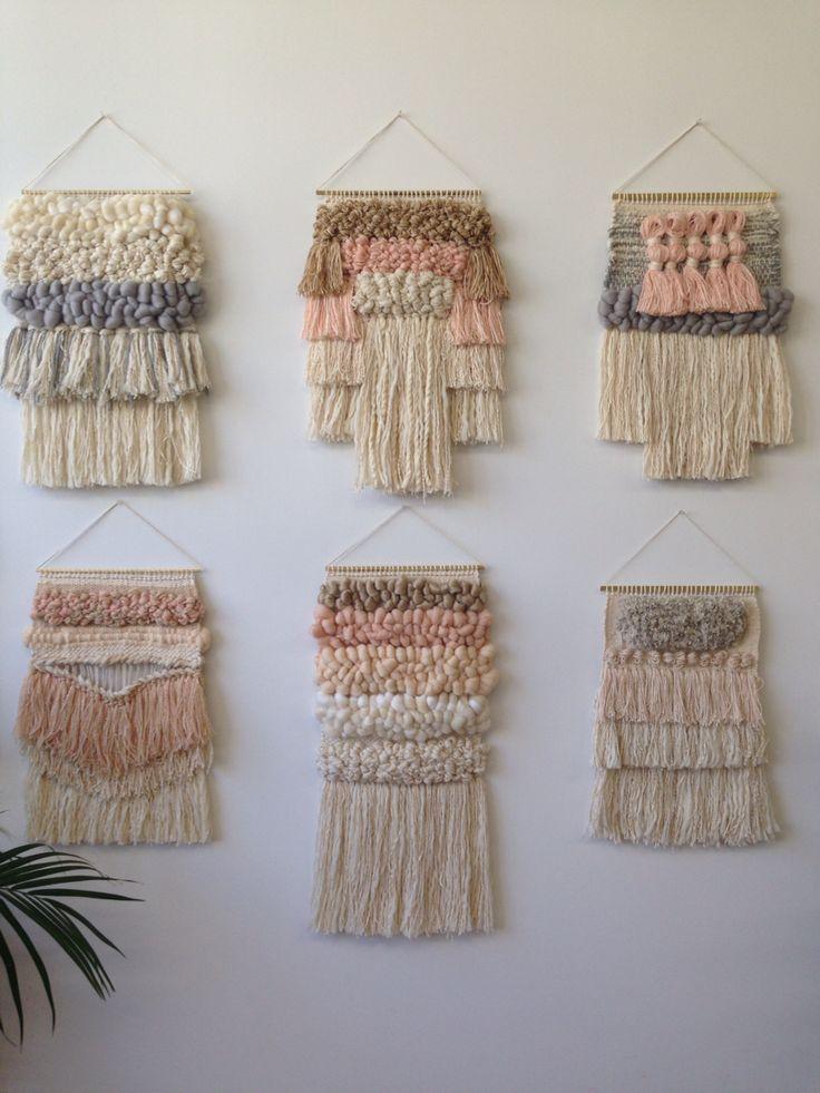 Weavings by Maryanne Moodie @charlottemurph look up her insta because its sooo beautiful