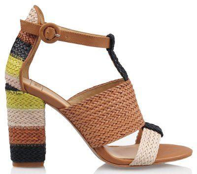 Women's Fashion Footwear : Jenga - Beige Multi