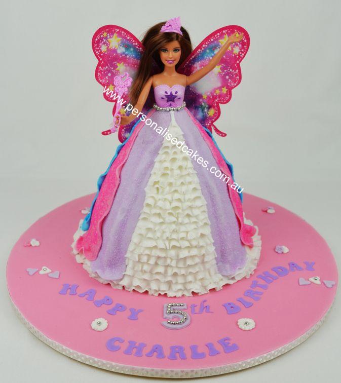 D Barbie Birthday Cakes