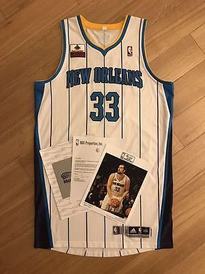 Ryan Anderson All Star Three Point Contest Game Worn Used Jersey MeiGray LOA