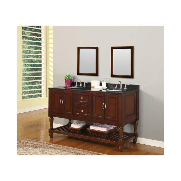 black granite top 5060d10 esbk bathroom sink cabinets bathroom vanity