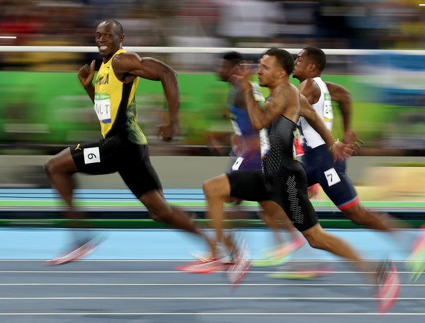 The Internet went wild with Usain Bolt memes after the Jamaican runner made Olympic history.