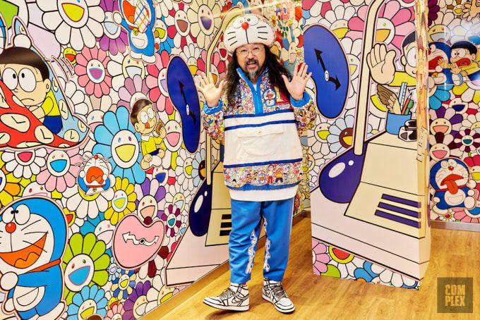 Takashi Murakami Talks Kids See Ghost Album Art And New Uniqlo Collaboration Takashi Murakami Murakami Ghost Album