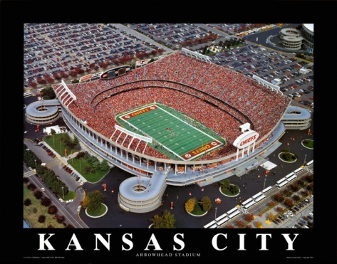 Kansas City Chiefs - Arrowhead Stadium. So excited for football!!!! So excited Beau will be here before football season is over!! :)