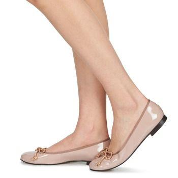 Shoes Női Balerina cipők / babák Betty London LIVIANO Bőrszínű