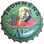 Trommer's Genuine Ale, beer bottle cap | Trommer, John F. (Brewery), Orange, New Jersey USA | Cap used 1934-1948