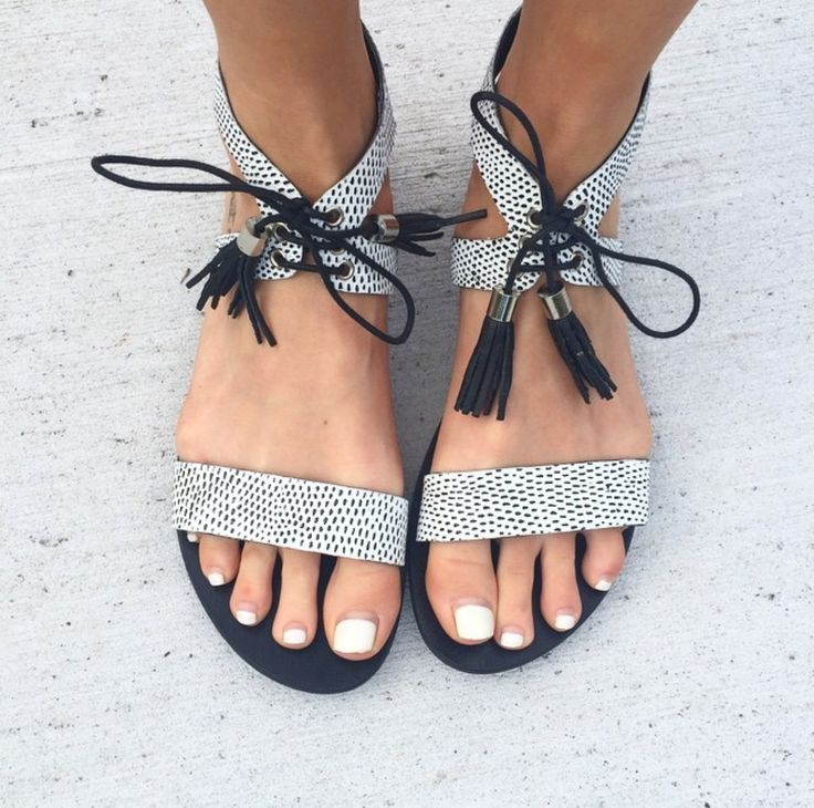 WILLOW Leather Lace Up Sandal