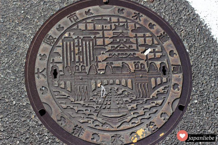 Japans Kanaldeckel: Osaka, Teil 1