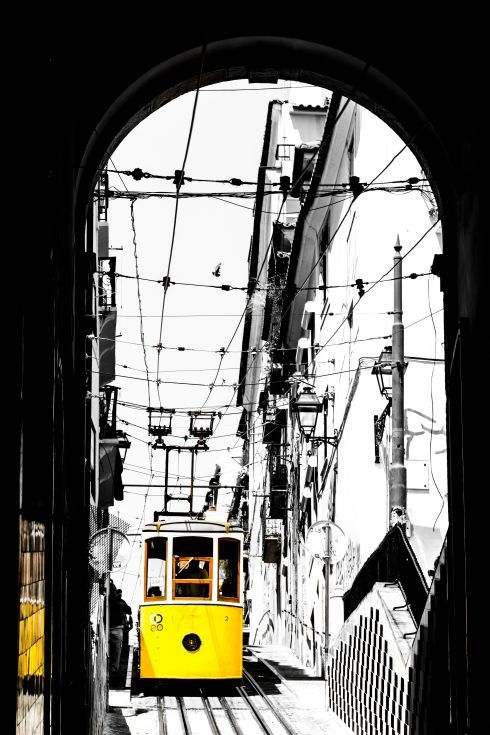 ARTFINDER: THE LEGENDARY YELLOW TRAM III by Victor de Melo - Lisbon is a very pleasant city to visit on foot, but travelling by tram throughout the old alleys, it's an experience you'll never forget. The tram is one of...