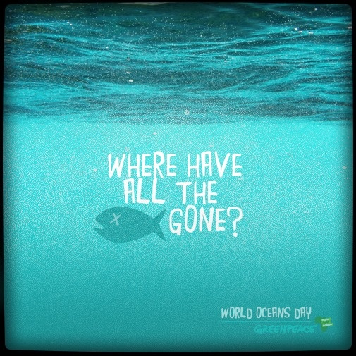 World Ocean Day - Greenpeace Africa