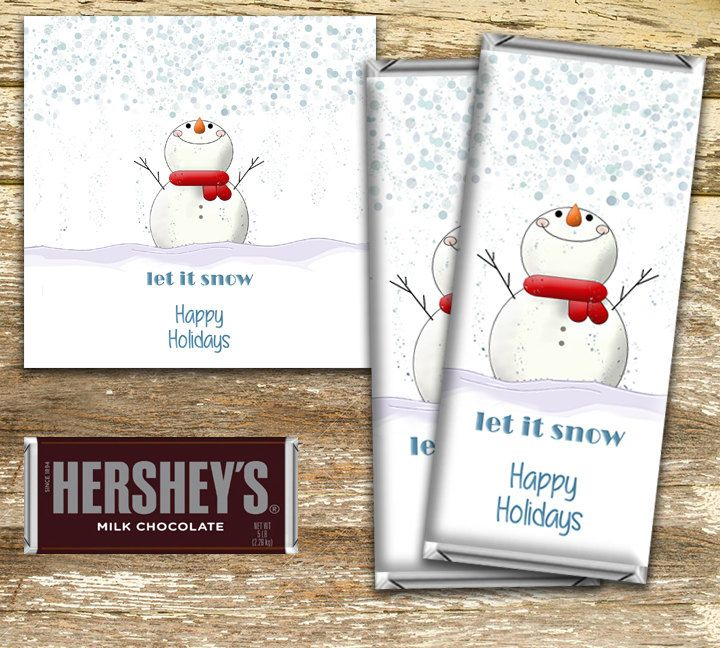 A personal favorite from my Etsy shop https://www.etsy.com/ca/listing/470823236/christmas-candy-bar-wrappers-christmas